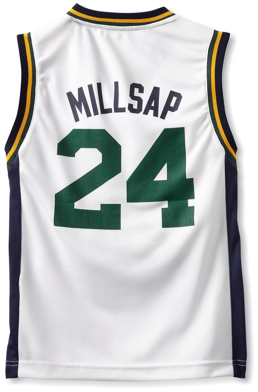 Outerstuff NBA Utah Jazz Paul MILLSAP réplica camiseta - r28e5ggs juventud, Infantil, blanco: Amazon.es: Deportes y aire libre