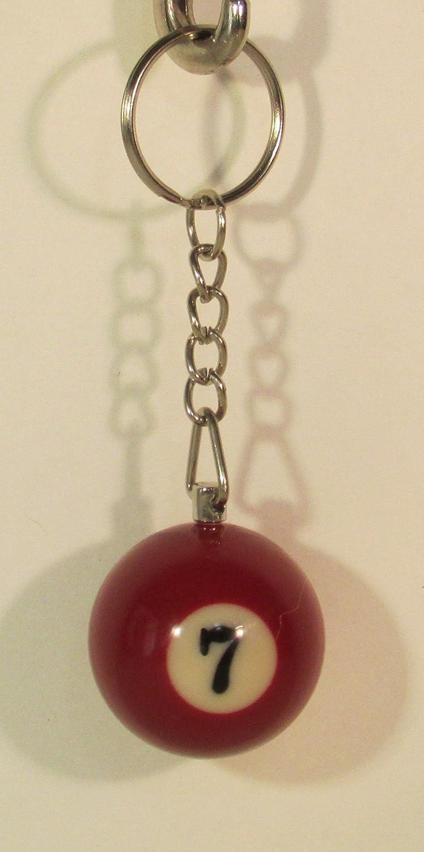 Llavero de Billar con diseño de Bola de Billar de 3,17 cm ...