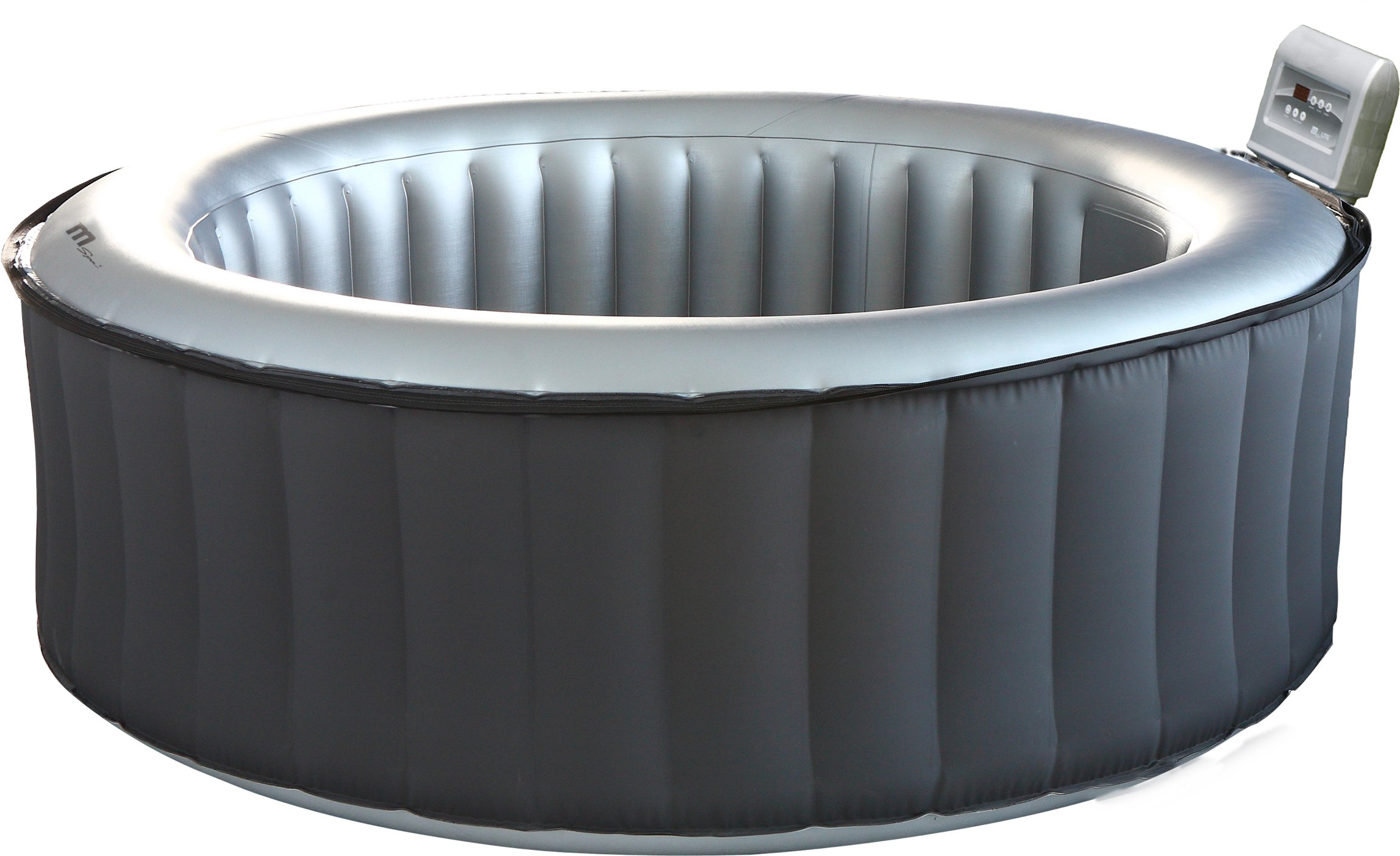 MSPA Lite Silver Cloud Relaxation and Hydrotherapy Spa Round 6 Person M-021LS