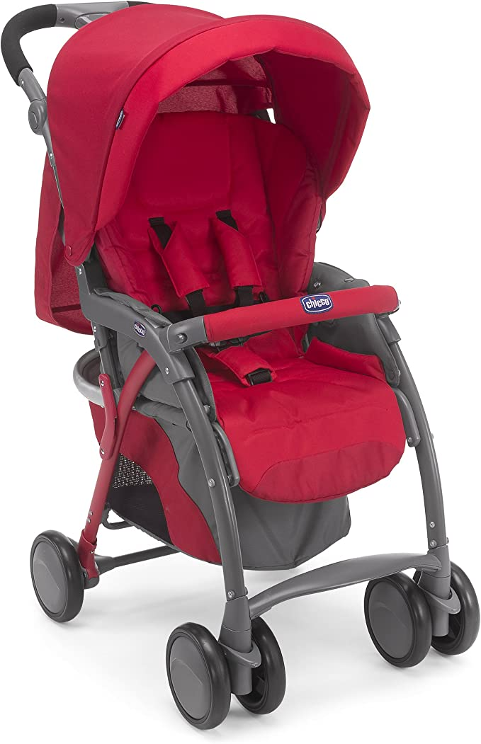 Chicco Simplicity Plus Pushchair Top, Red