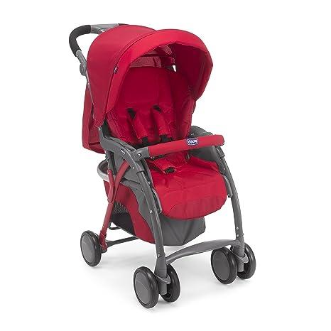 04079482700000 Cochecito Chicco Simplicity Plus Top, Rojo