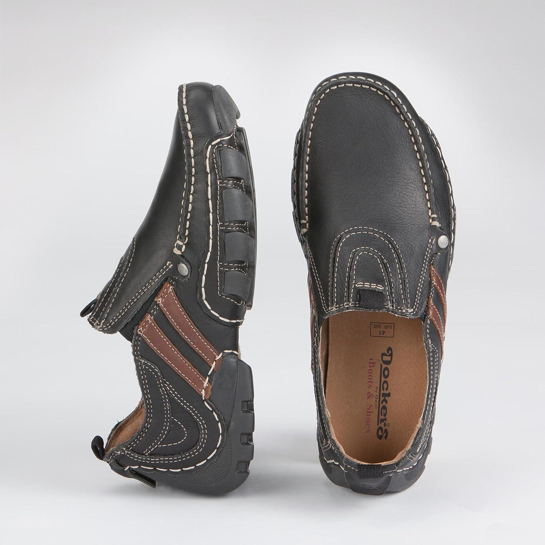 Dockers - Mocasines para hombre negro negro 42: Dockers: Amazon.es: Zapatos y complementos