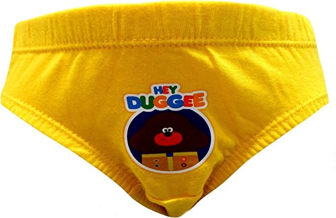 Hey Duggee Well Done Little Boys 6 Pack Briefs Underpants