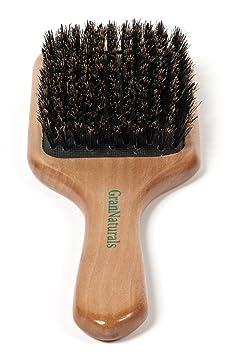 GranNaturals Boar Bristle Paddle Hair Brush by GranNaturals