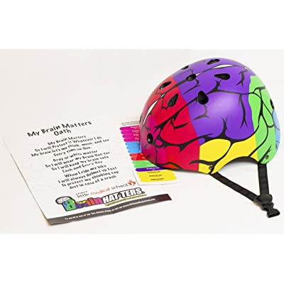 Little Medical School Brain Hat-Ters Kids Bike Helmet - Small : Sports & Outdoors