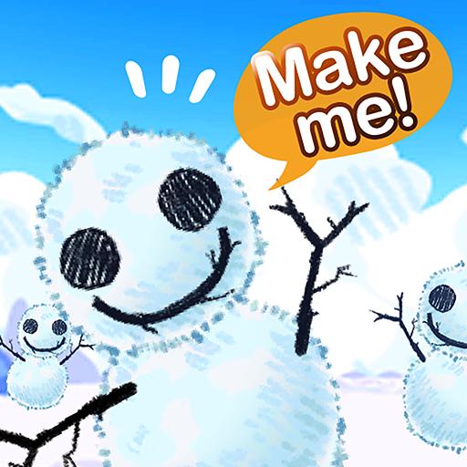 Snow Planet : Let's build a snowman!