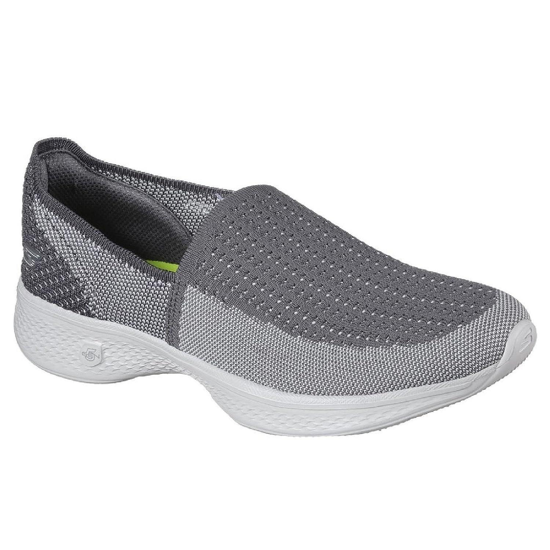 Skechers Womens/Ladies Go Walk 4 Ravish Lightweight Breathable Shoes 36 EU|Charcoal