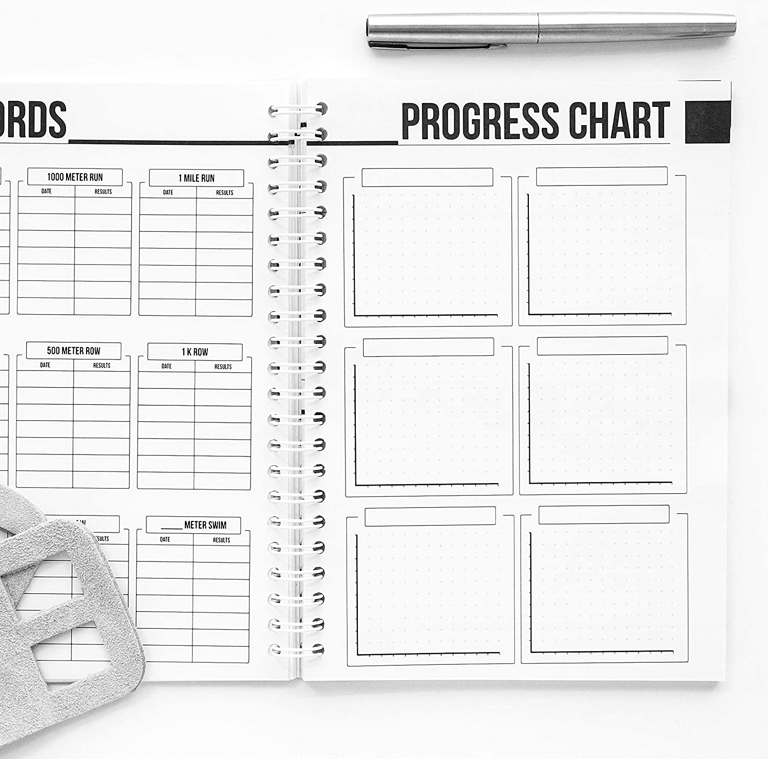 wodbook crossfit workout journal profit wod logbook exercise