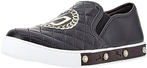 Versace Jeans Scarpa, Zapatillas para Mujer, Negro (Nero E899), 40 EU: Amazon.es: Zapatos y complementos