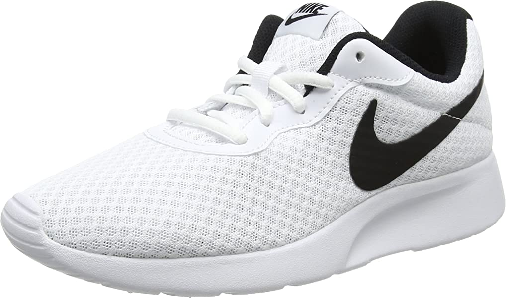 factory authentic san francisco classic style Women's Nike Tanjun White/Black Running Shoes Size 7.5