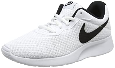 lowest price 17aec 9b0ba Image Unavailable. Image not available for. Color  Nike Women s Nike Tanjun  White Black ...