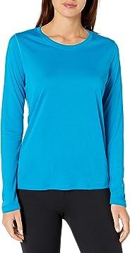 Hanes Womens Sport Cool Dri Performance Long Sleeve Tee Shirt