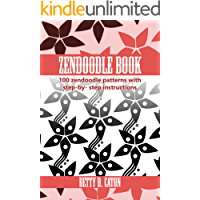 ZenDoodle Book: 100 zendoodle patterns with step-by-step instructions