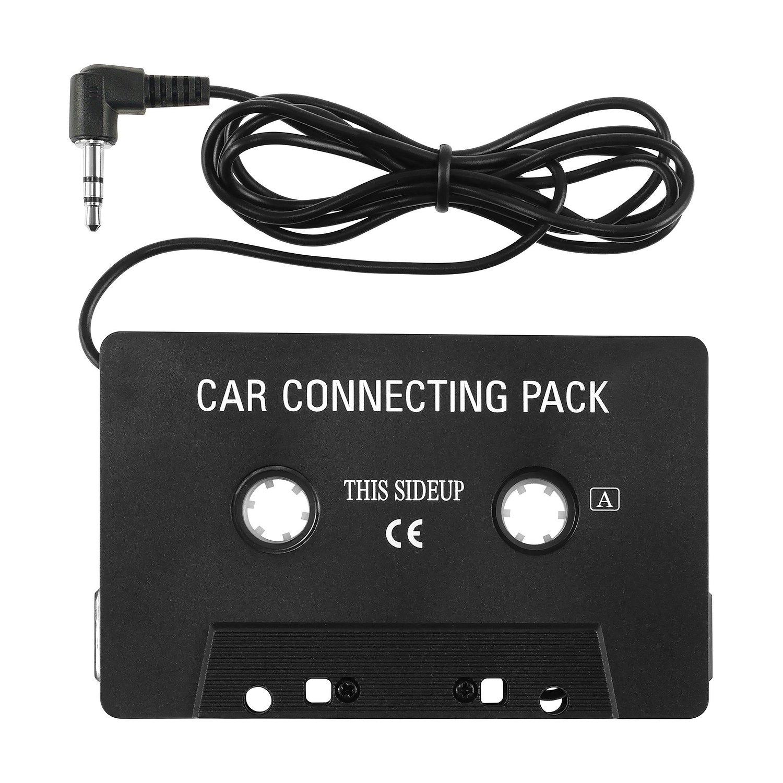 Eforcity - Adaptador cassette de coche para iPod/MP3/CD: Amazon.es: Electrónica