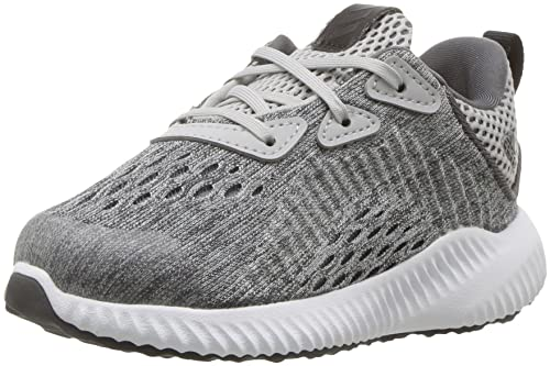 d91a92fe3 Adidas Alphabounce EM Shoe Toddler s Running 9K Grey-White  Amazon ...