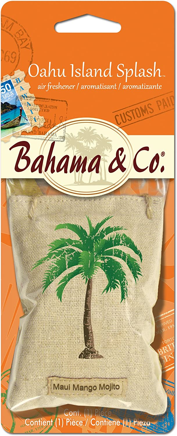 Bahama /& Co Aruba Blue Breeze by Refresh Your Car 06312 Scented Pouch