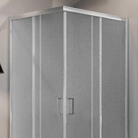 Idralite Box Mampara de Ducha Cuadrado 70x70 H185 Impreso C 5mm ...