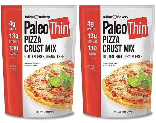 Mezcla para preparar pizzas Paleo (paquete de 2 mezclas ...
