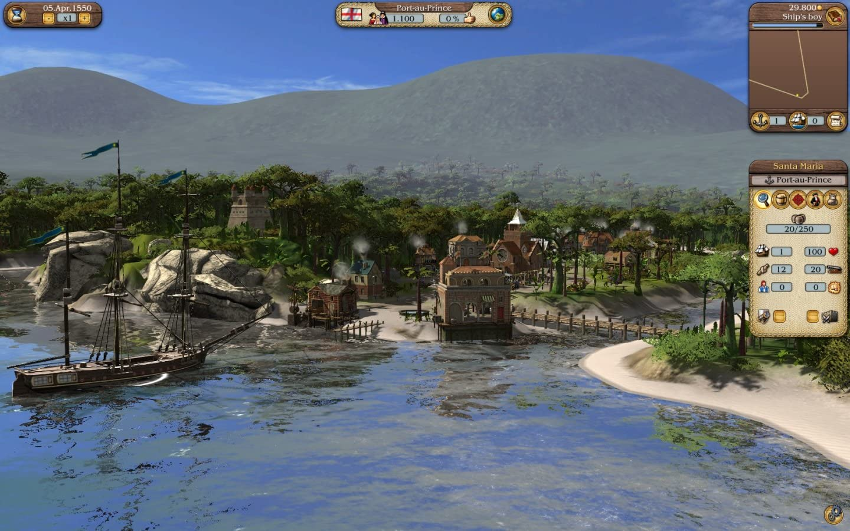 Amazon com: Port Royale 3: Pirates & Merchants - PC: Video Games