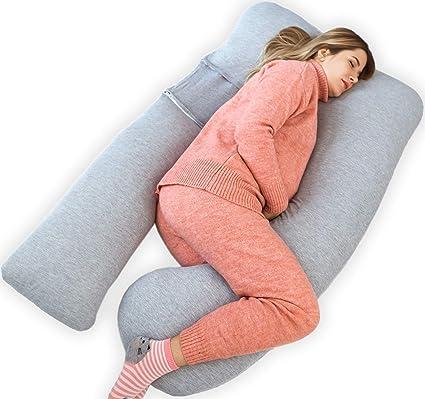 U Shaped Woman Pregnancy Pillow Long Cushion Cover Full Body Maternity Pregnant