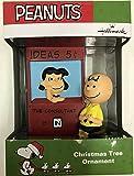 Hallmark 2016 Peanuts Charlie Brown & Lucy Ornament