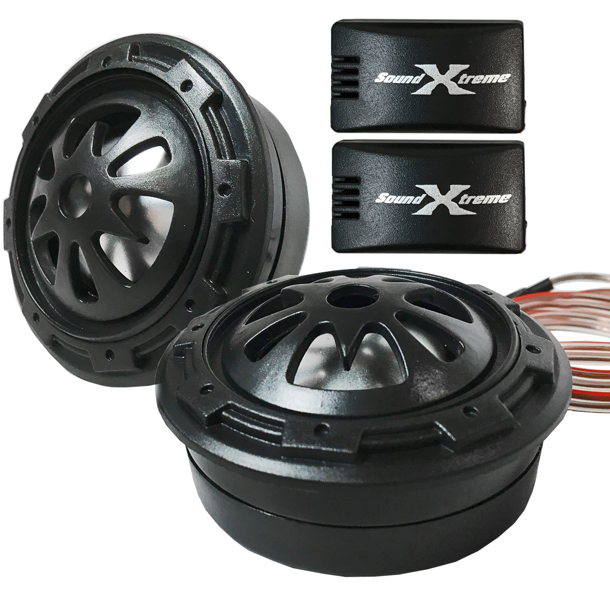 SoundXtreme ST-TW30 LOUD Tweeters 1'' Component System 350W MAX POWER w/ Crossovers