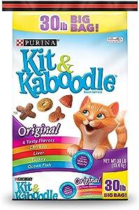 Pack of 2 - Purina Kit & Kaboodle Original Cat Food 30 lb.