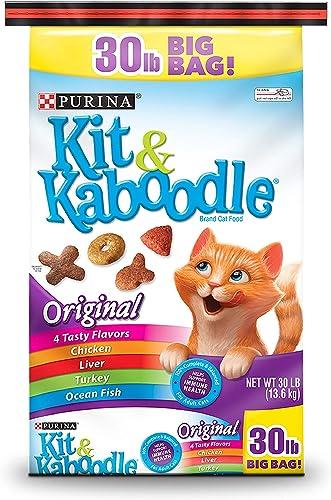 PACK OF 2 – Purina Kit Kaboodle Original Cat Food 30 lb. Bag