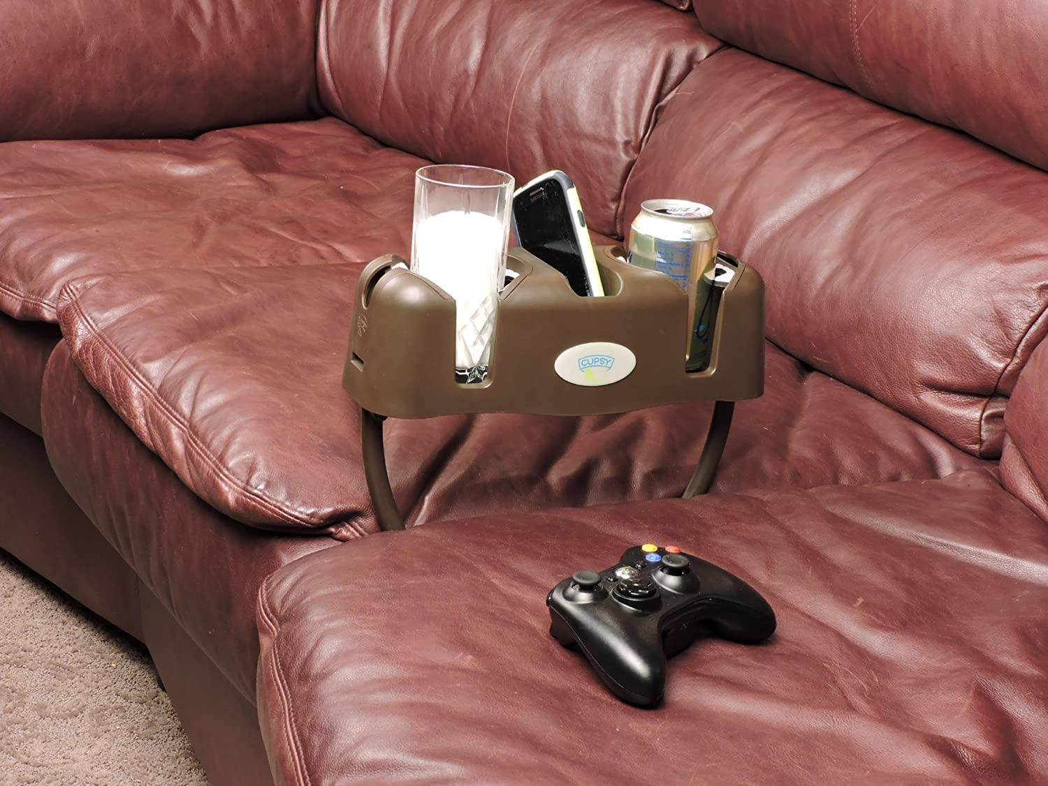 Amazon.com Cupsy Sofa and Couch Armchair Drink Organizer and Recliner Drink Caddy with Removable Legs - Multiple Colors Kitchen u0026 Dining & Amazon.com: Cupsy Sofa and Couch Armchair Drink Organizer and ... islam-shia.org