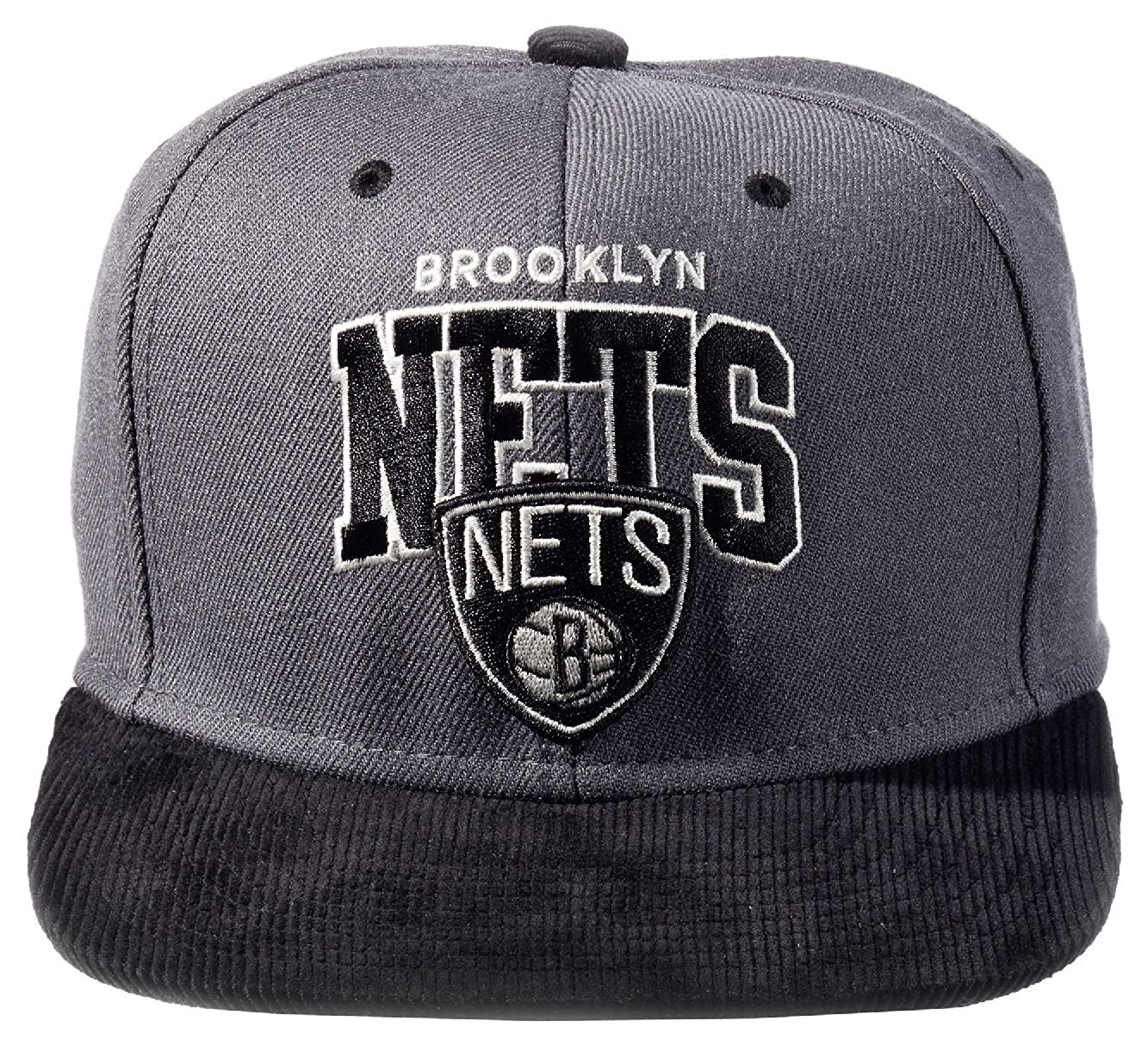 Mitchell & Ness Bulls Brooklyn Nets Snapback scholer: Amazon.es ...