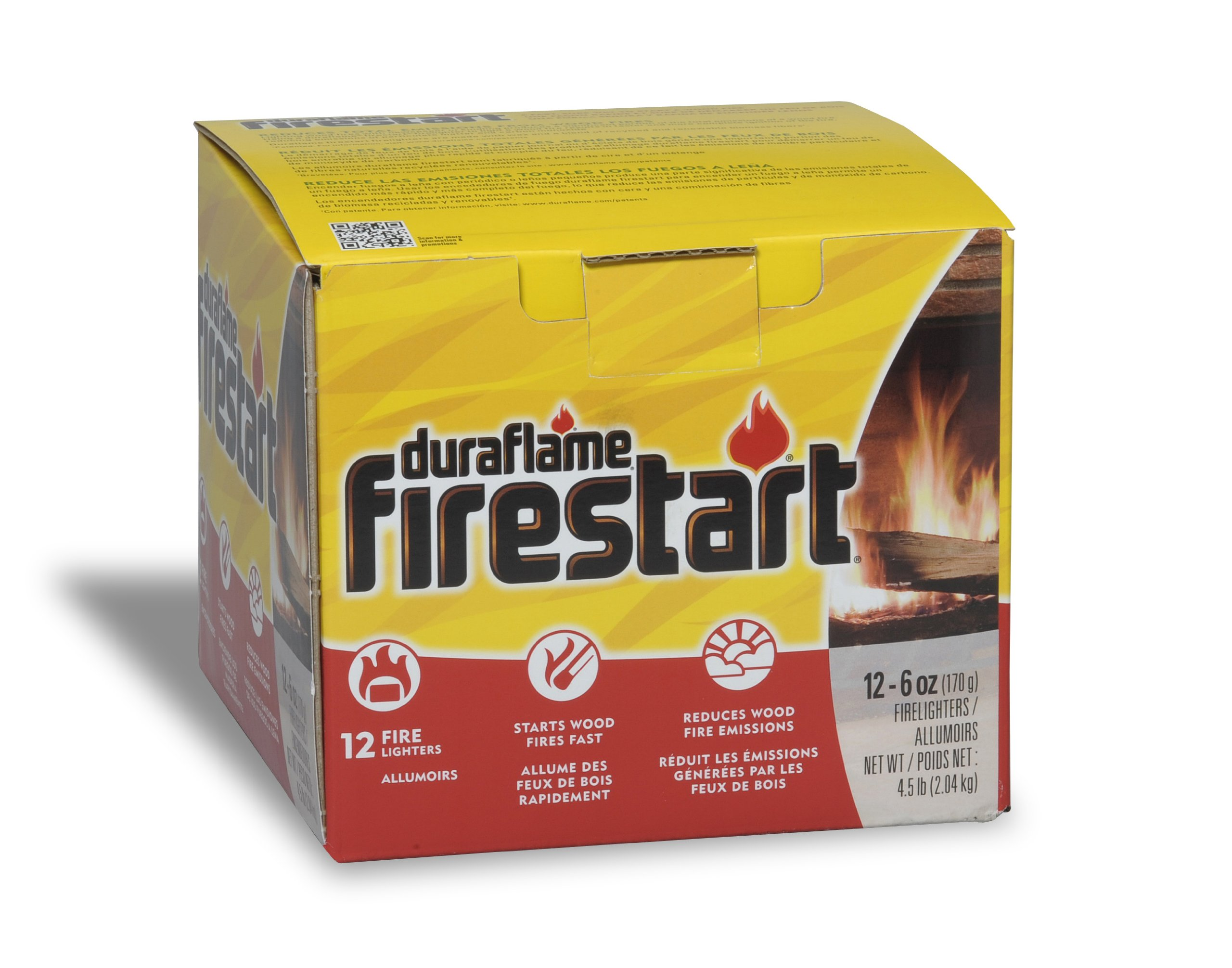 Duraflame 1244 Firestart Firelighters, 12-Pack by Duraflame