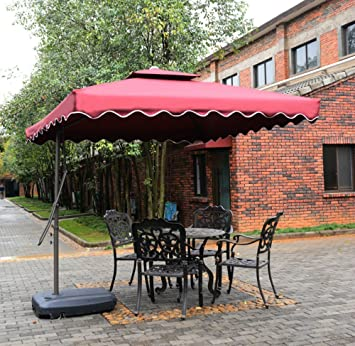 Awesome Tyloru0027s Garden 8 1/2 Ft Cantilever Outdoor Patio Umbrella, UV Resistant,