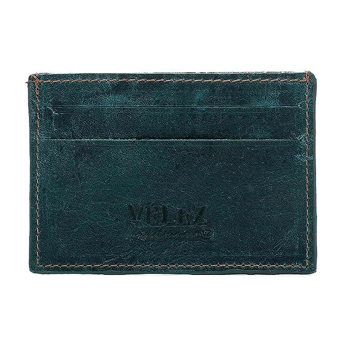 Velez Mens Genuine Full Grain Colombian Leather Bifold Wallets Credit Card Holder Money Clip | Billeteras de Cuero Colombiano para Hombres Turqoise at ...
