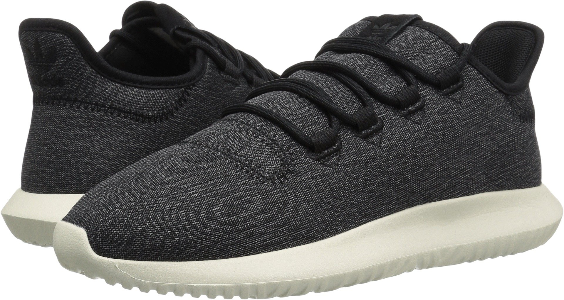 adidas Originals Women's Tubular Shadow Black/Black/Off-White 8.5 B US