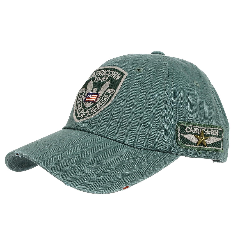 WITHMOONS Gorras de béisbol gorra de Trucker sombrero de Baseball Cap  Distressed Trucker Cap Eagle Patch CR1012 (Gray)  Amazon.es  Ropa y  accesorios c413732a3f6