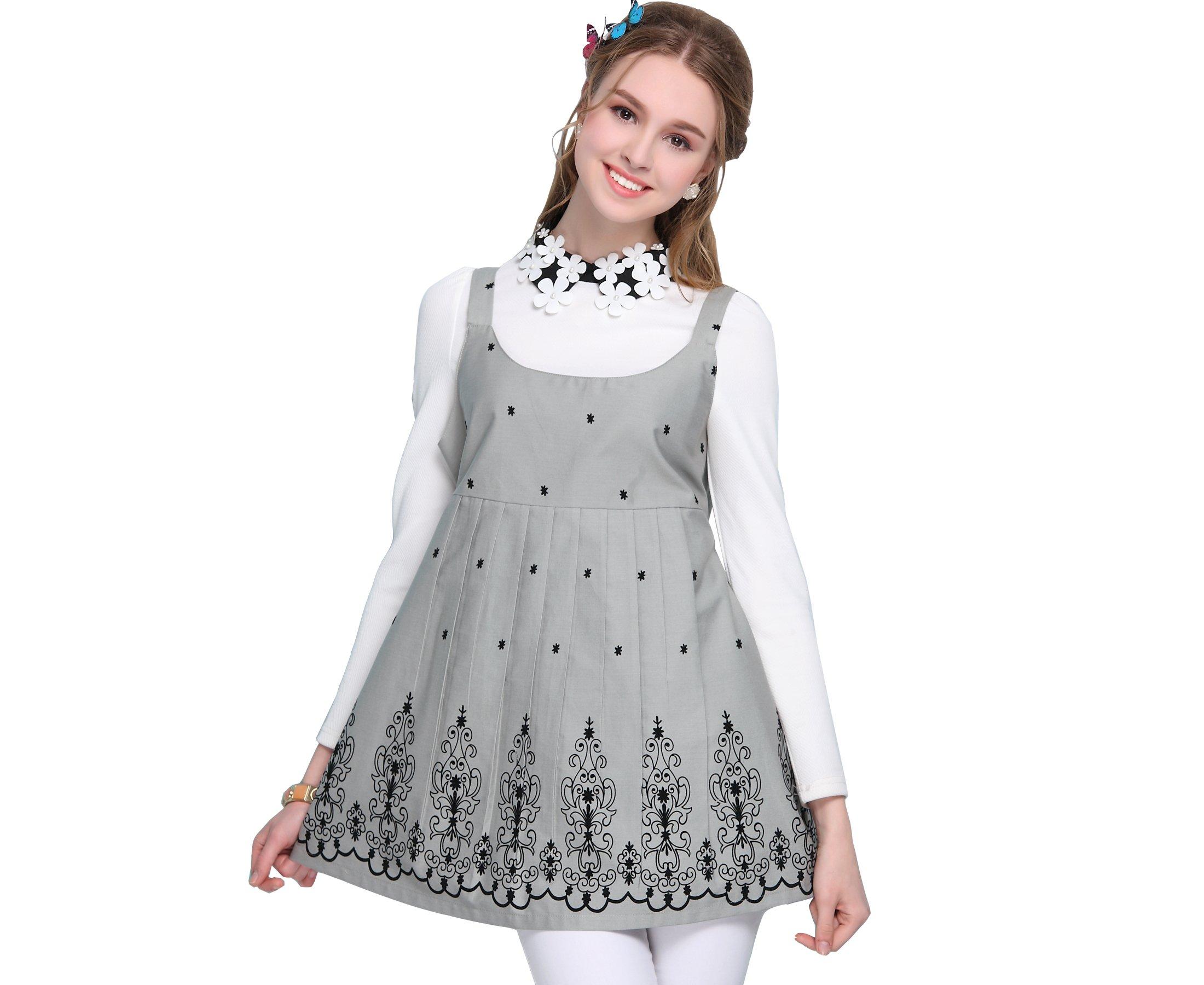 LVFEIER Anti-Radiation Shielding Vest/Dress During Pregnancy Grey by LVFEIER