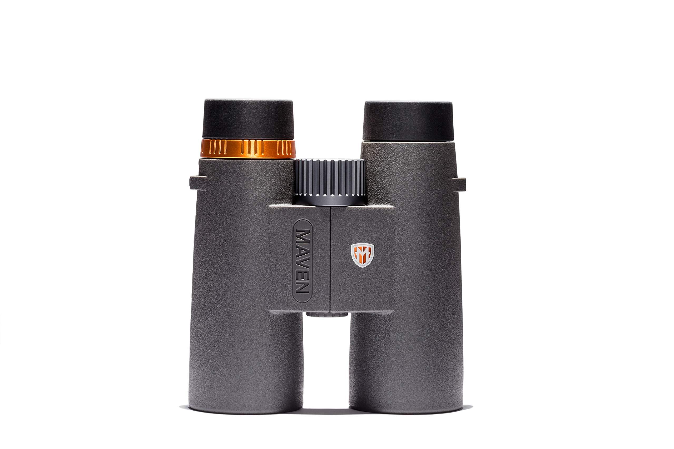 Maven C1 10X42mm ED Binoculars Gray/Orange by Maven