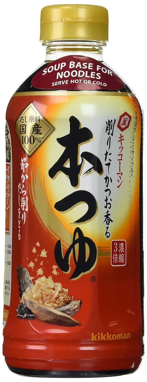 Kikkoman Japanese Noodle Soup Base(Hon Tsuyu) 17 FL Oz.