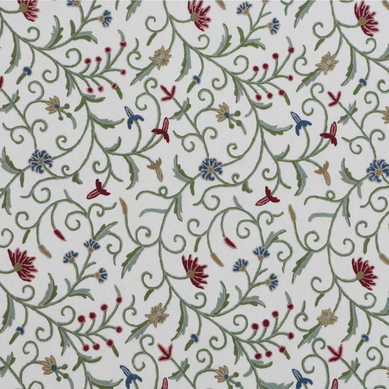Retro mustard flower pattern  Fabric Panel Make A Cushion Upholstery Craft