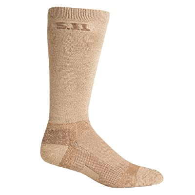 5.11 Tactical 59048 Level 19-Inch Sock, Coyote, Large: Sports & Outdoors