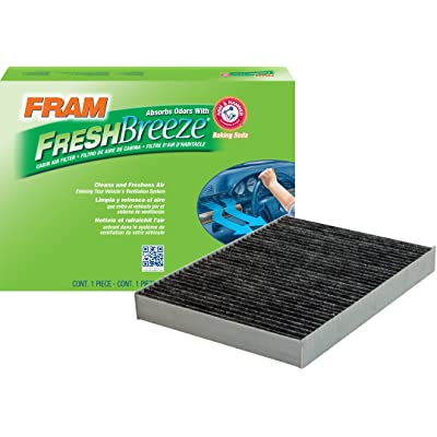 FRAM CF11668 Fresh Breeze Cabin Air Filter with Arm & Hammer: Automotive