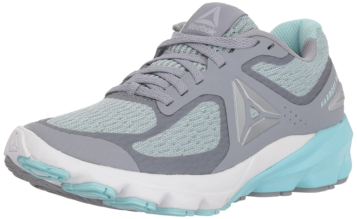 Reebok Women's Harmony Road 2 Sneaker B073XBNKW5 10 B(M) US|Cool Shadow/Blue Lagoon/White/Cloud Grey