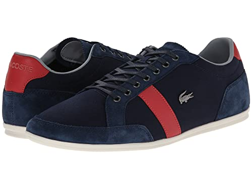 d04a362890787 Lacoste Mens Alisos 22 Sneakers in Navy 16 M US  Lacoste  Amazon.ca ...