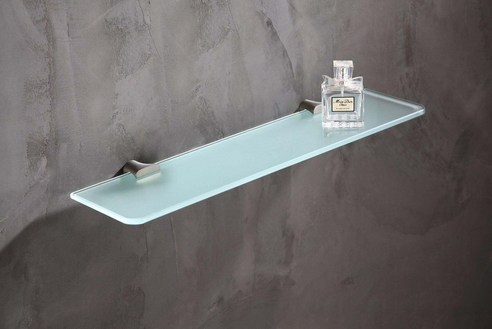 19.69'' Glass Shelf - Brushed Nickel - Essence Series AC-AZ050BN - ANZZI by ANZZI (Image #3)