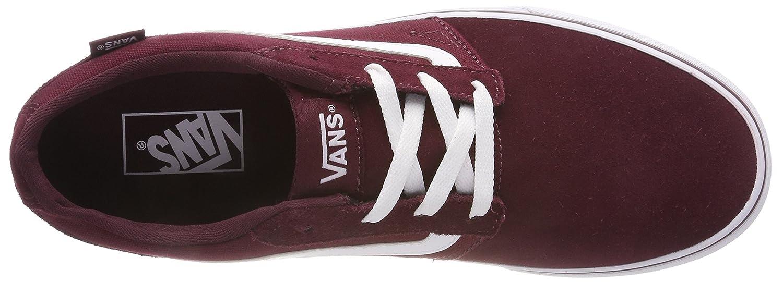 Vans Men's Chapman Stripe SuedeCanvas Low Top Sneakers