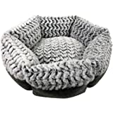 Pet Craft Supply Co. Round Machine Washable Memory Foam Comfortable Ultra Soft All Season Self Warming Cat & Dog Bed
