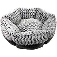 Pet Craft Supply Co. Round Machine Washable Memory Foam Comfortable Ultra Soft All Season…