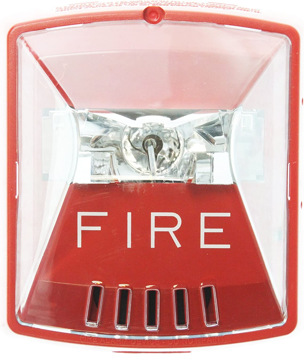 Wheelock HSR Exceder Fire Alerting Strobe Horn RED,2W,Wall Mount, 12 24V, 8CD