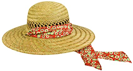 Amazon.com   Outdoor Cap Women s Natural Straw Garden Hat b27f35d4a78