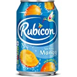 Rubicon Mango Sparkling Drink 330 ml (Pack of 24)